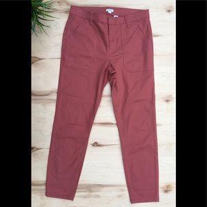 J.Crew dusty/pink jeans